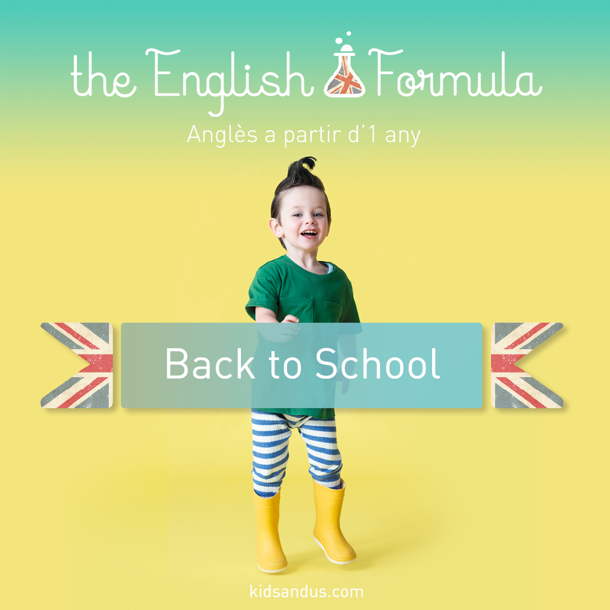 At Kids&Us we're all ready for the new school year. Are you?